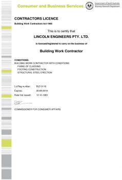 Builders-Contractor-Licence